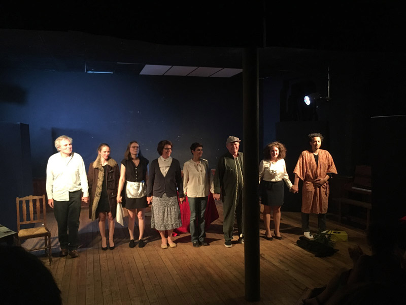 Episode de la vie d'un auteur de Jean Anouilh - Atelier Théâtre Crécelle 2017